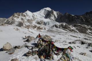 Dnes o 9.00 v sedle Larke Bhanjyang vo výške 5 106 m