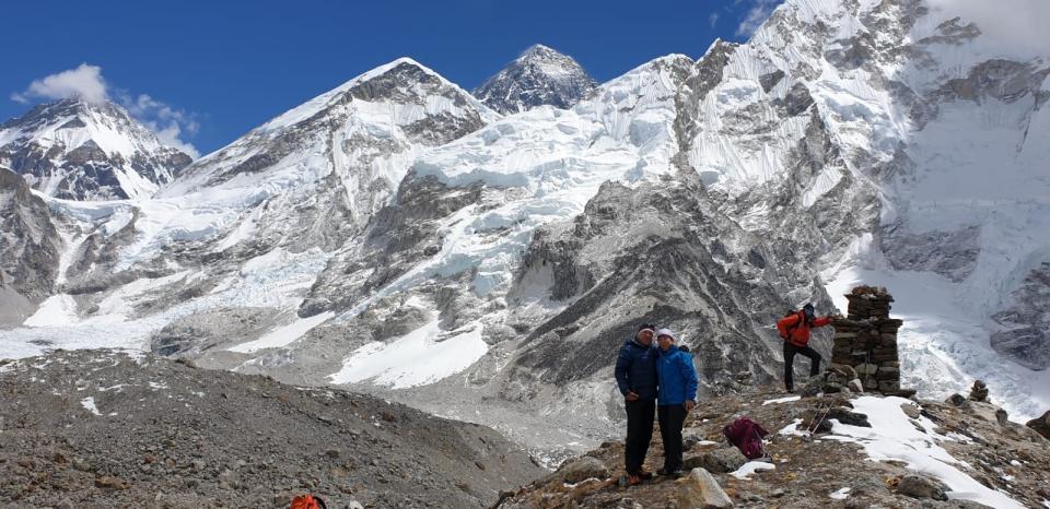 Chang Tse a Everest z Pumori BC