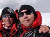 Na vrchole Ama Dablam s Piotrom Morawskim.