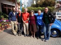 Joao, ja, Pusty, Miss Hawley, Kinga a Horia v Kathmandu.
