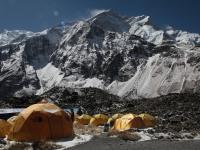 Annapurna zo základného tábora.