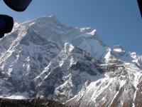 SZ stena Annapurny z BC.