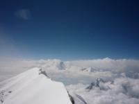 Dhaulágirí z vrcholu Annapurny.