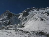 S stena Dhaulágirí cestou do základného tábora.