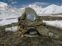 Piotrekov pomník vo French Pass.