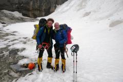 Peter a Michal po zostupe z vrcholu Dhaulágirí.