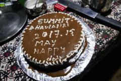 Gyalzenova torta po zostupe do BC.