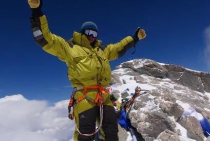 24.Michal Sabovčík na vrchole Dhaulagiri