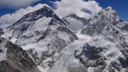 Magická podkova Nuptse, Lhotse, Everest