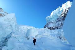 Ľadopád Khumbu.