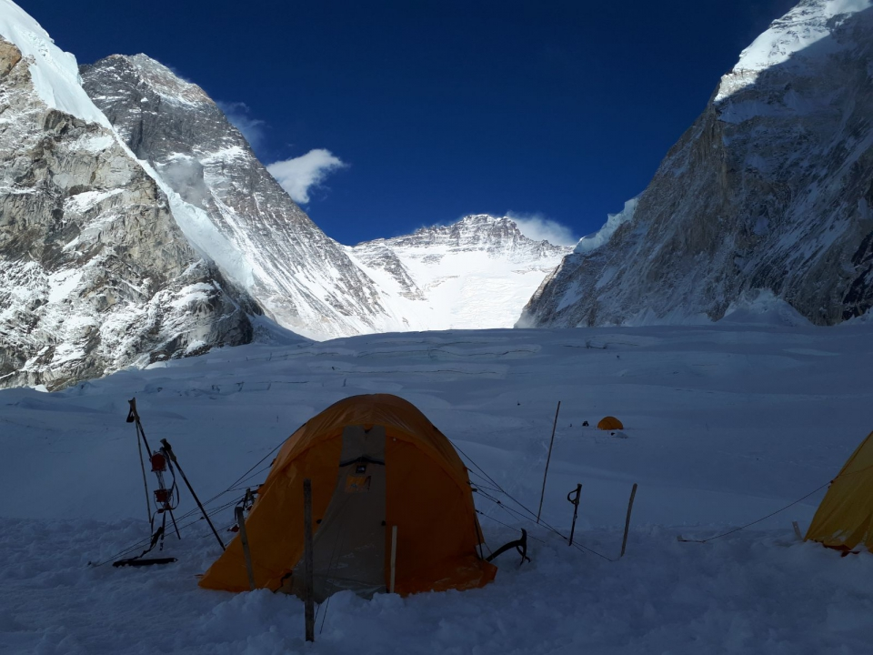 Everest a Lhotse z C1