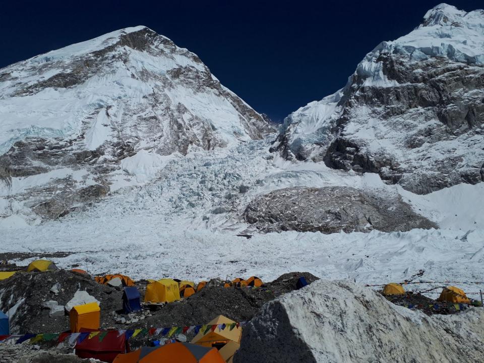 Základný tábor pod Everestom