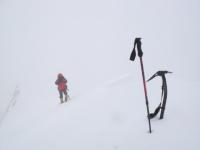 Posledné kroky na najvyšší bod Gasherbrumu II.