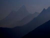 Údolie Solo Khumbu a Ama Dablam (6 856 m).