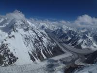 Broad Peak, ľadovec Godwin Austen a Concordia.