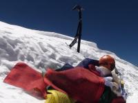 Vrchol K2 (8 611 m).