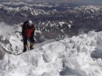 Pavlove posledné krok na vrchol K2.