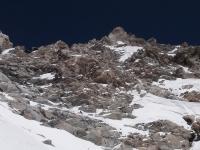 Nekonečný vrcholový hrebeň.