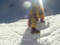 Vrchol Lhotse.