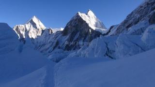 Dnešné ráno v ľadopáde Khumbu.