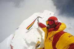 Horia druhý raz na vrchole Manaslu.