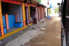 Obchodná ulica v Arughat Bazar.