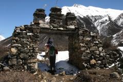 Stará brána do Samdo.