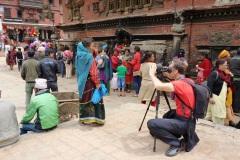 Rasťo v Kathmandu.