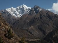 Údolie Solo Khumbu a Taboche.