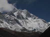 Južná stena Lhotse.