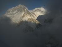 Everest a Lhotse z Pumori.
