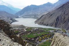 Kagbeni a rieka Kali Gandaki