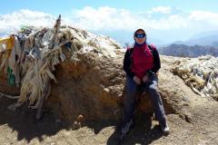 Marienka v sedle Dzong La