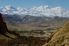 Annapurna I z Chhoseru.