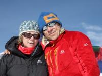 S Marikou v sedle Larke Bhanjyang (5 106 m).