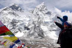 Tam je Everest.