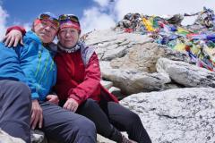 S Marienkou na vrchole Kala Pattharu.