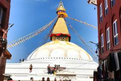 Stupa v Boudhanathe.