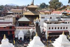 Hinduistický chrám Pashupatinath.