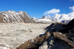 Cho Oyu, ľadovec Ngozumpa a Gokyo Ri.